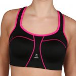 Padded Athletic Sportbeha zwart/roze 0095-2620