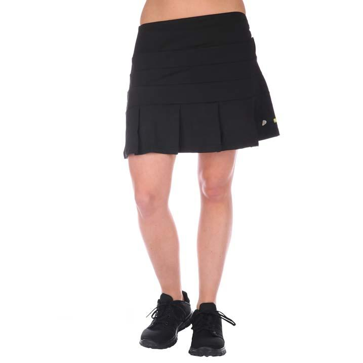 Kick Pleat tennisrok zwart 7151-2000