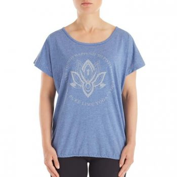 Front Printed Tee blauw 2719-4170