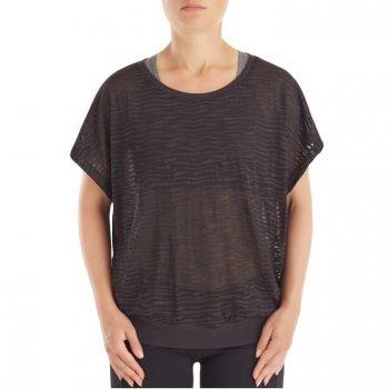 Short Sleeve Burnout zwart 2740-2000