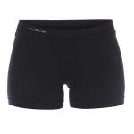 Naadloze short zwart voorkant 0050-2000